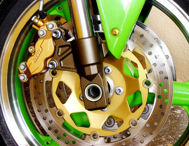 manutenção na moto